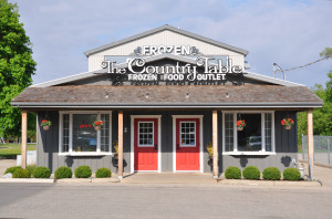 The Country Table - Front of store