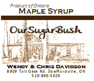 Our Sugar Bush Maple Syrup